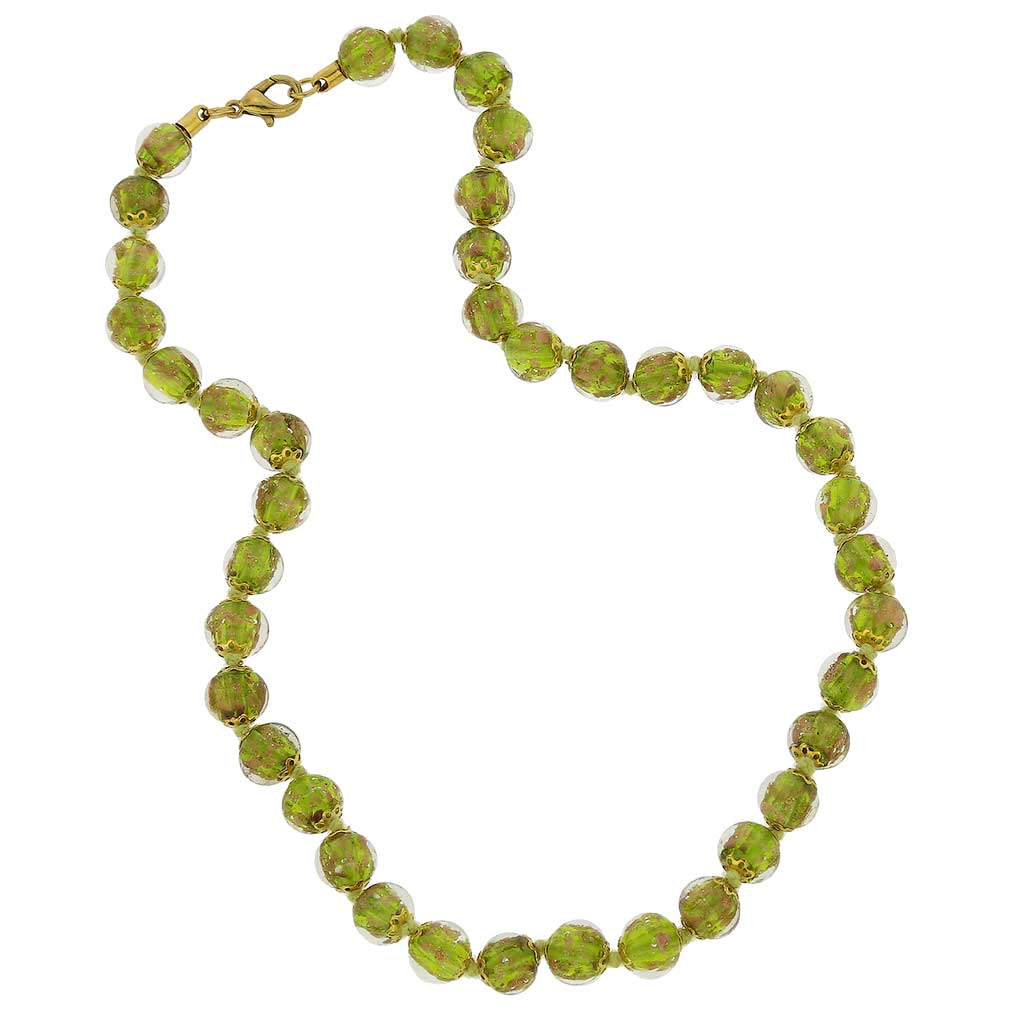Sommerso necklace - herb green