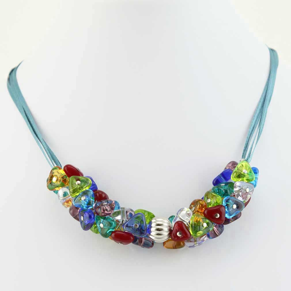 Preziosa Murano Glass Necklace - Multicolor