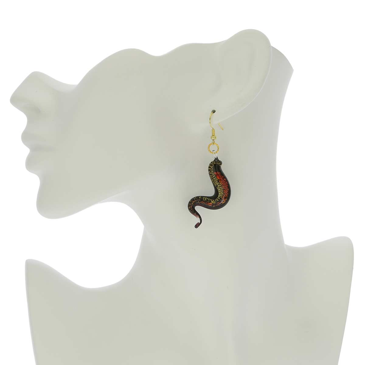 Graceful Snake Earrings