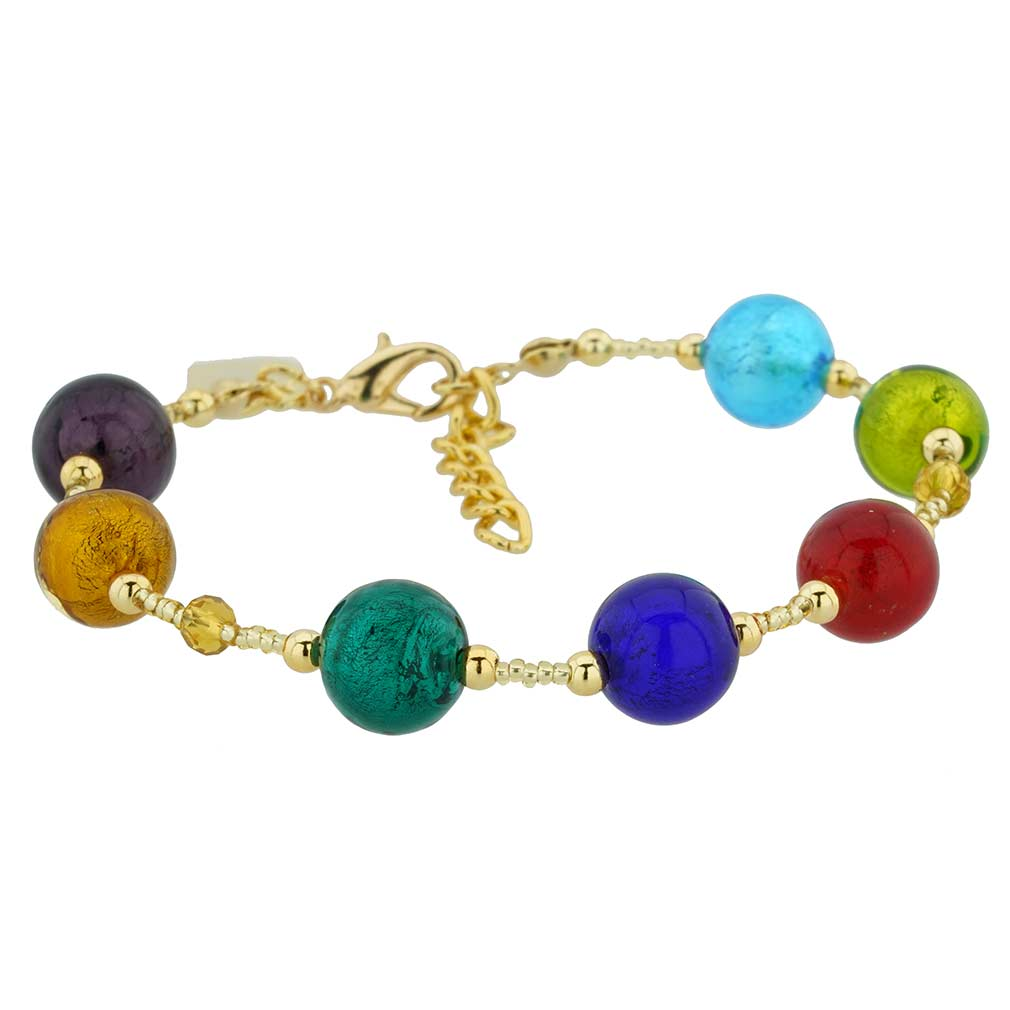 Sunny Venice Murano Glass Bracelet - Multicolor