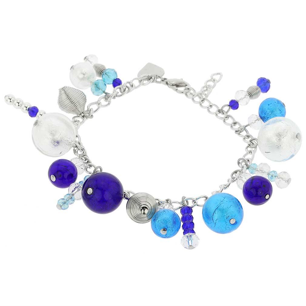 Sorgente Murano Glass Bracelet - Blue