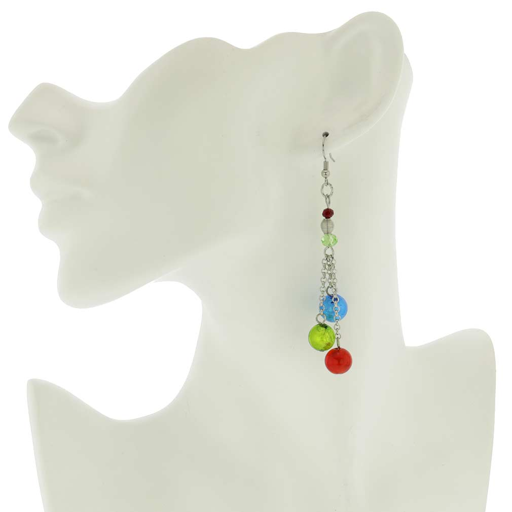 Sorgente Murano Glass Earrings - Multicolor
