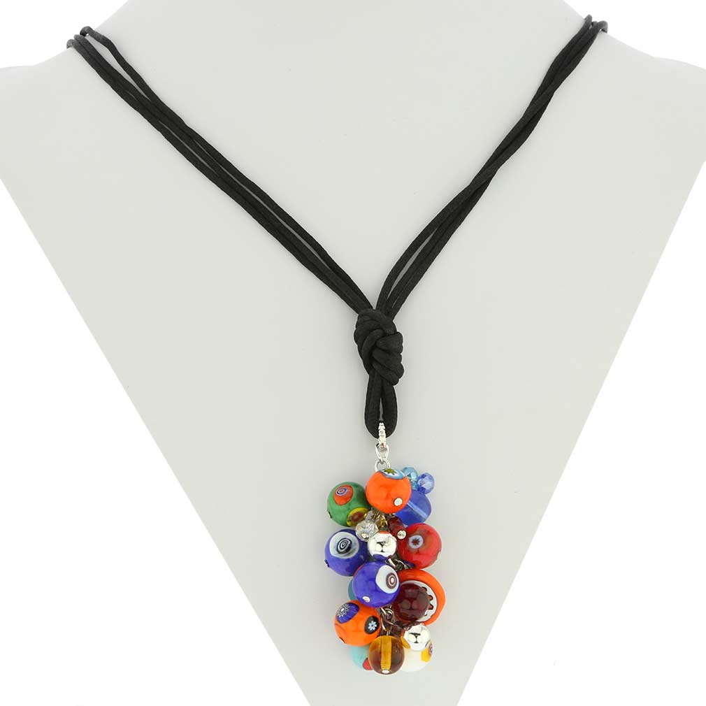 Sorgente Millefiori Murano Glass Necklace - Multicolor