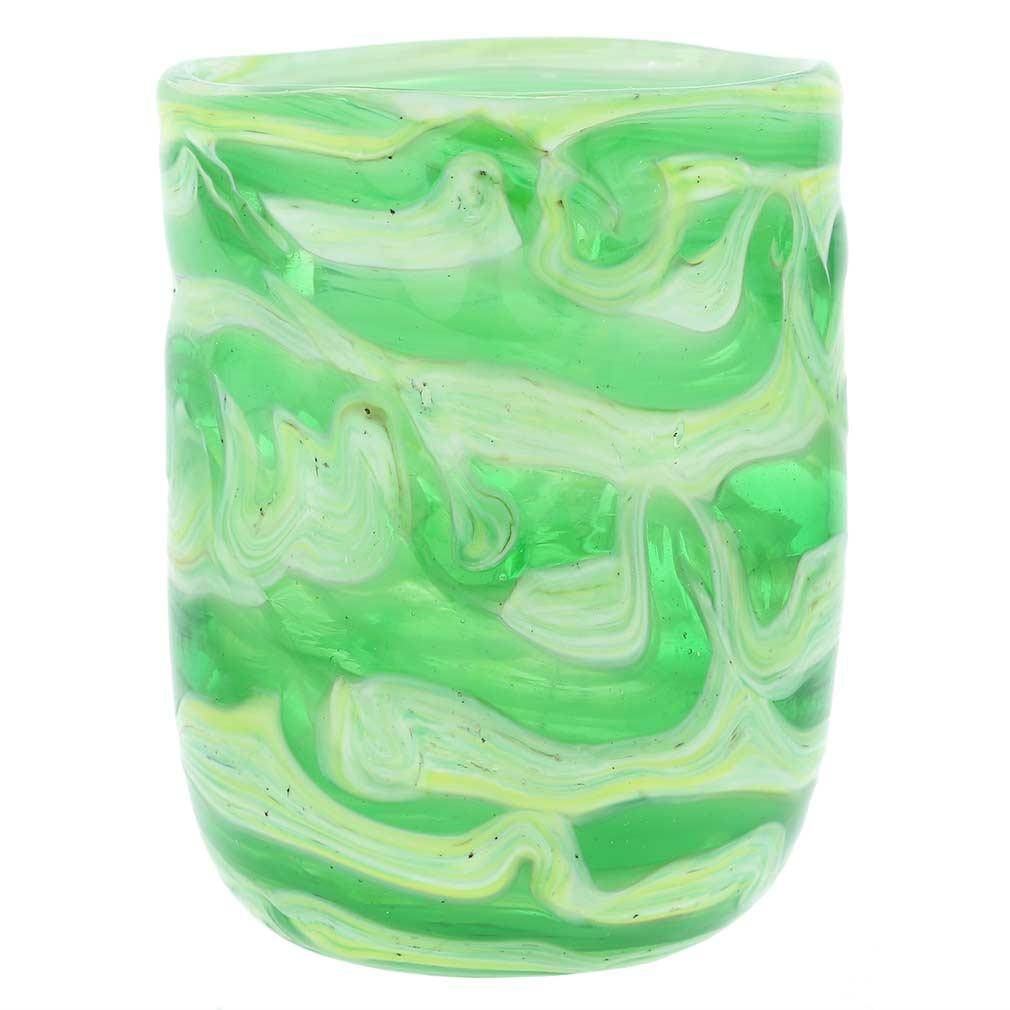 Aurora Murano Tumbler - Green