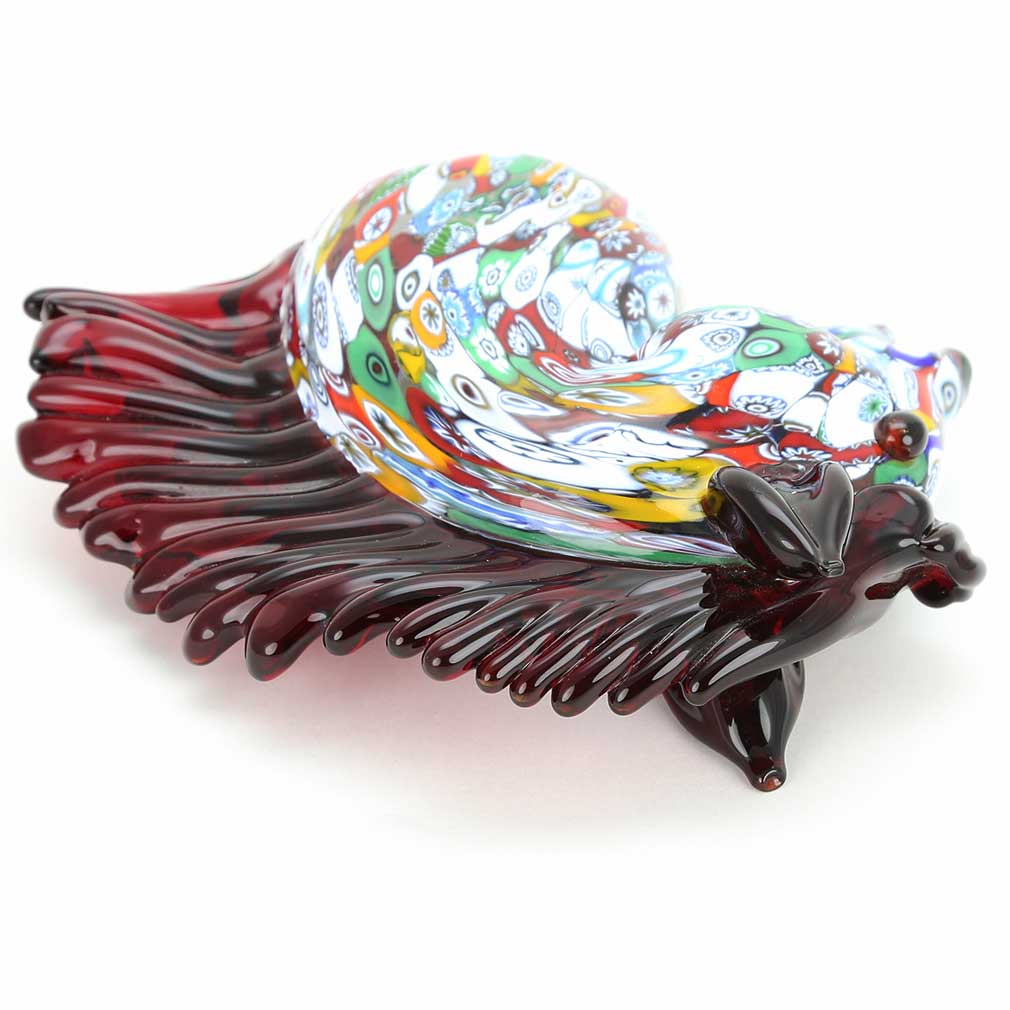 Murano Art Glass Millefiori Horse Head
