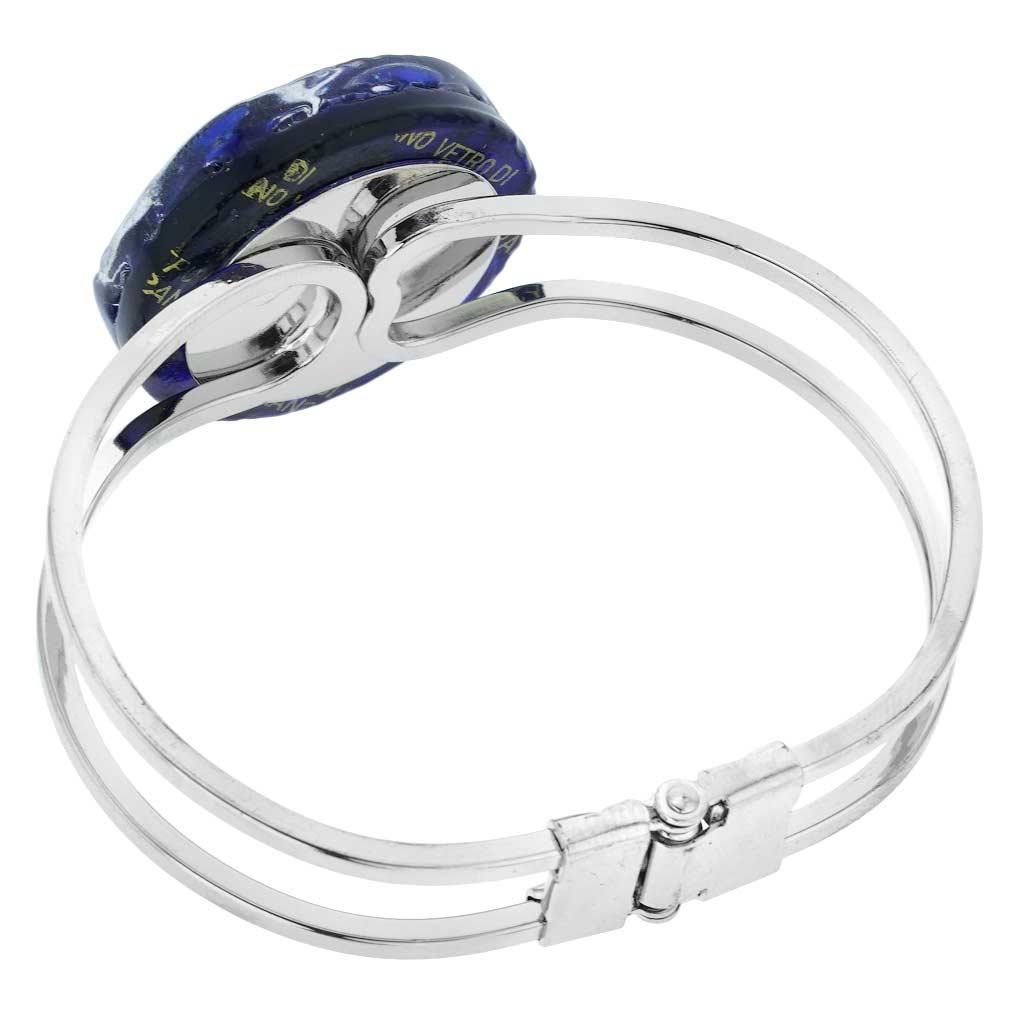 Venetian Reflections Metal Bracelet - Periwinkle
