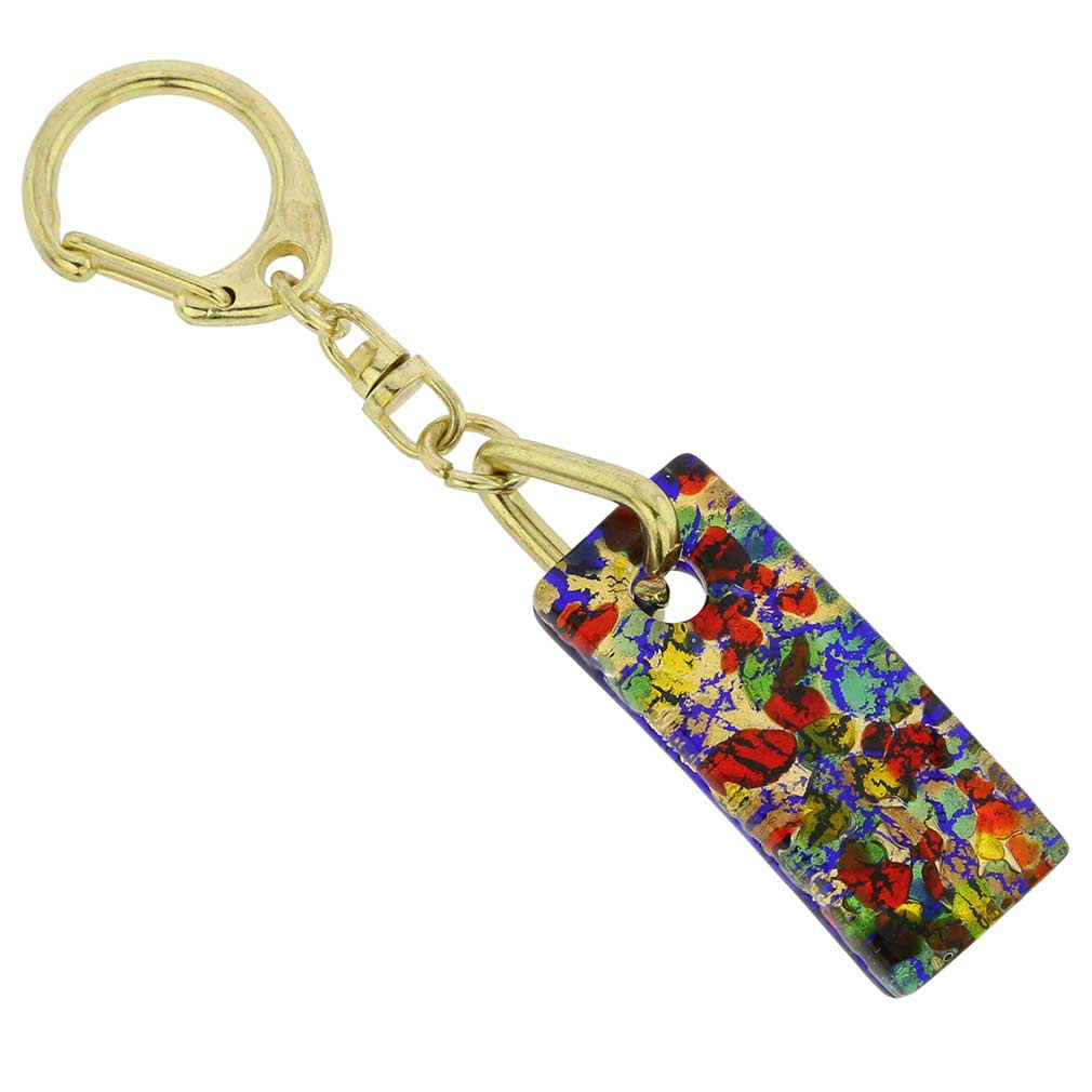 Murano Colors Stick Keychain - Golden Meadow