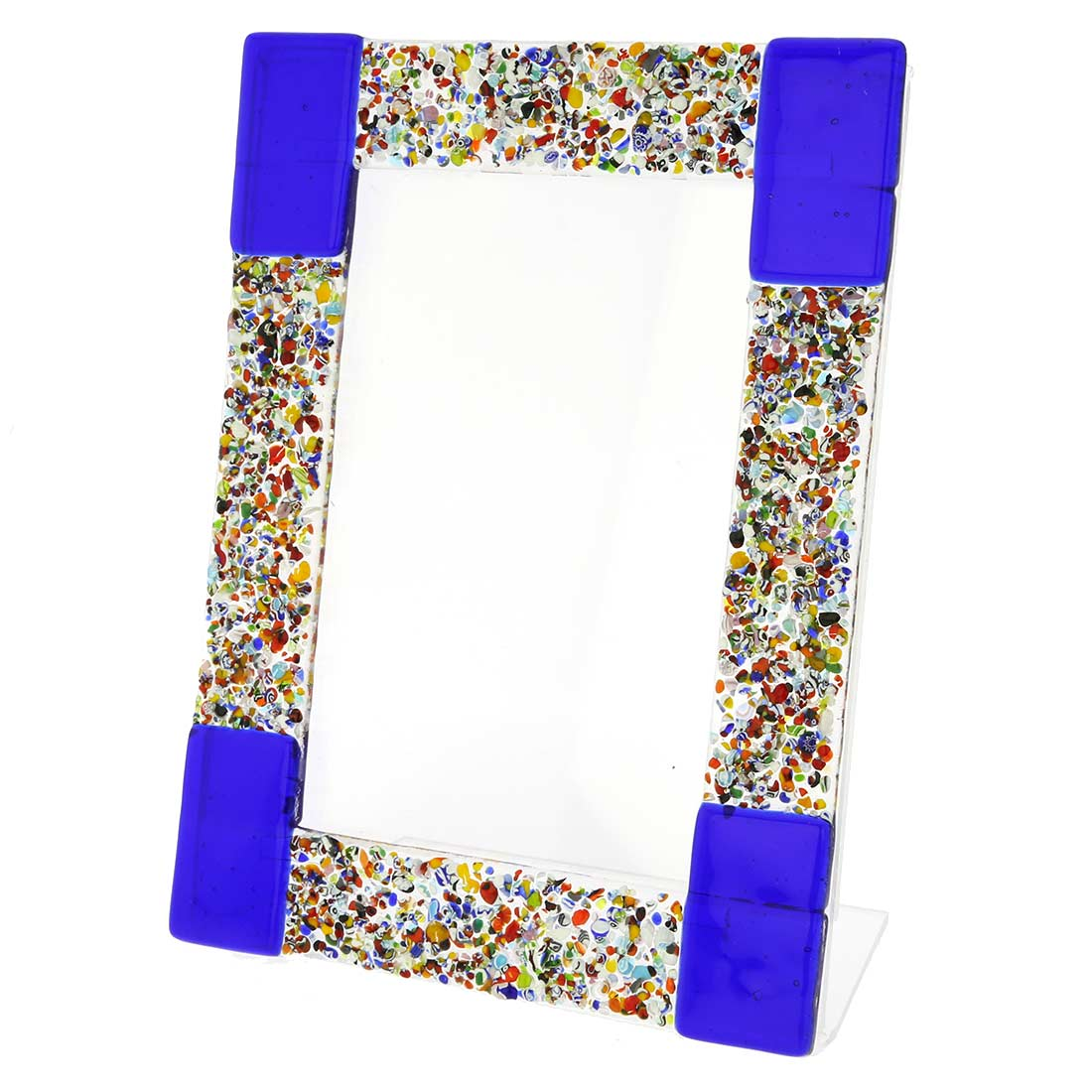 Murano Klimt Photo Frame - Blue 4x6 inch