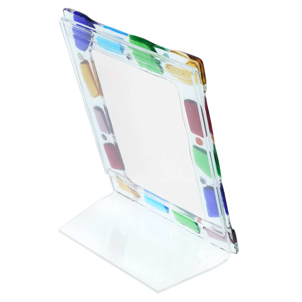 Murano Glass Photo Frame Navagero 4X6 Inch