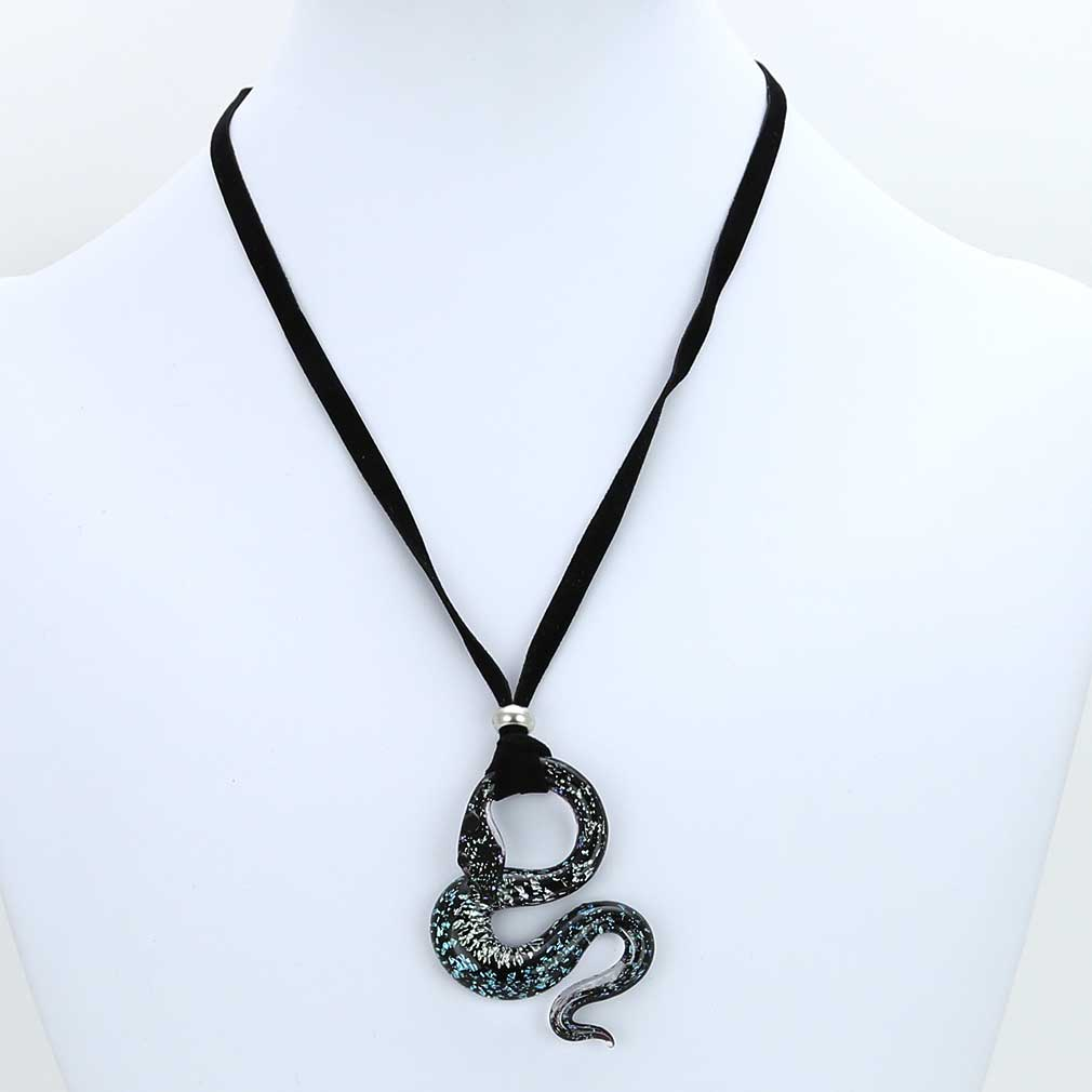 Murano Snake Set #2 - Pendant and Earrings