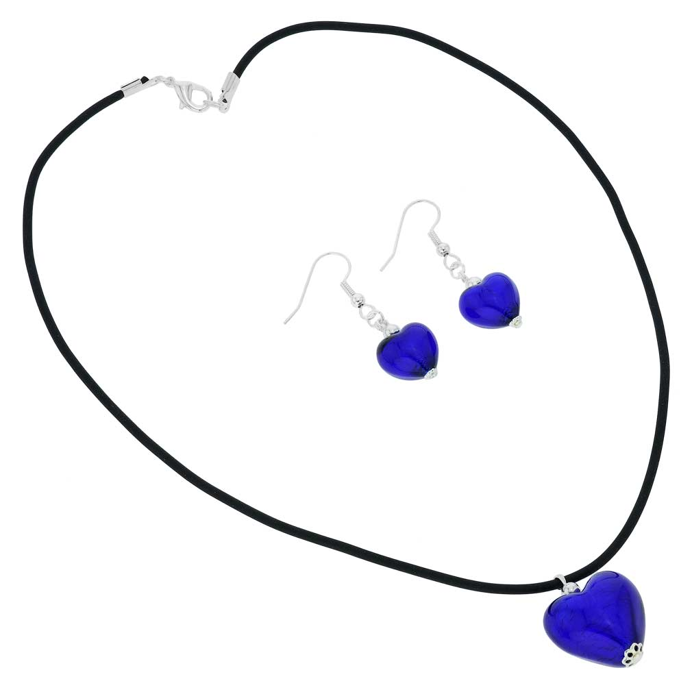 Venetian Reflections Jewelry Set - Blue