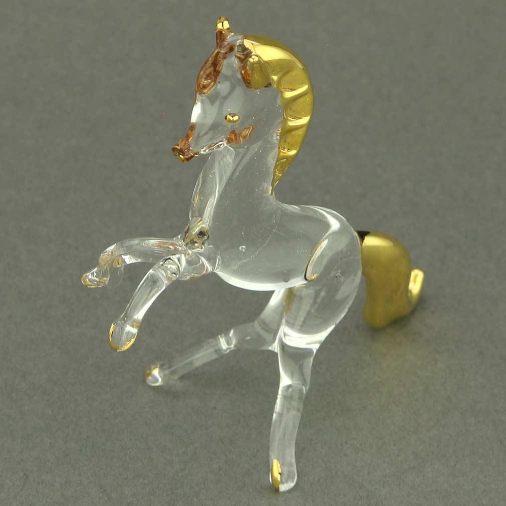 Murano Glass Small Wild Horse