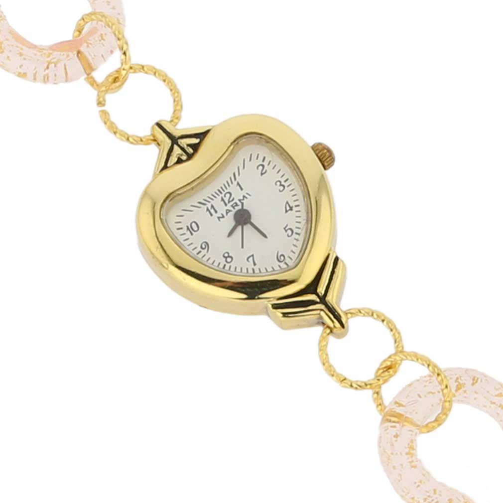 Avventurina Topaz Murano Watch