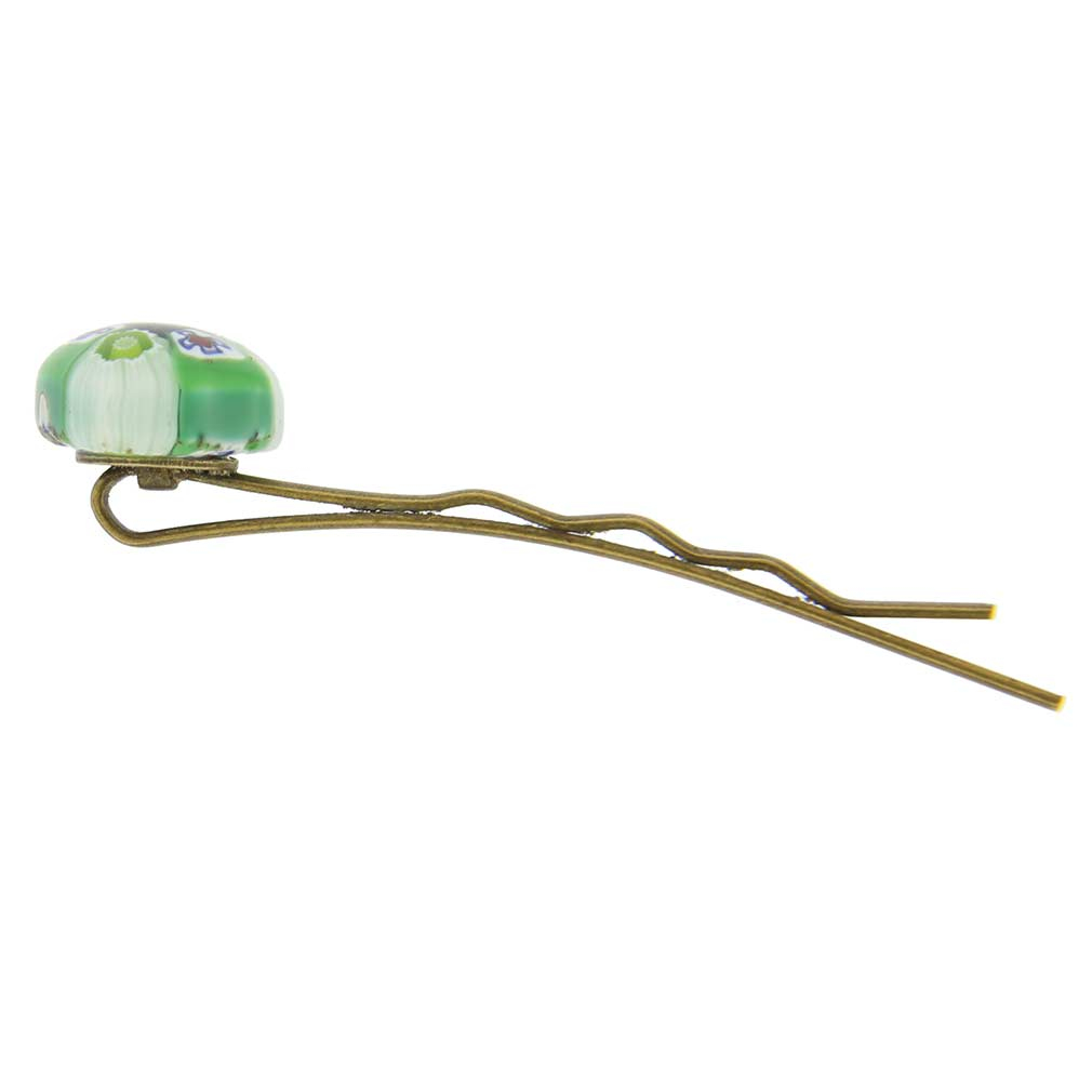 Millefiori Heart Hair Pin