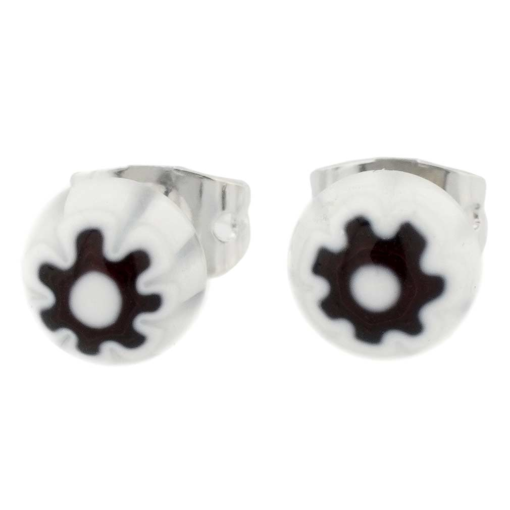 Millefiori Small Stud Earrings #2