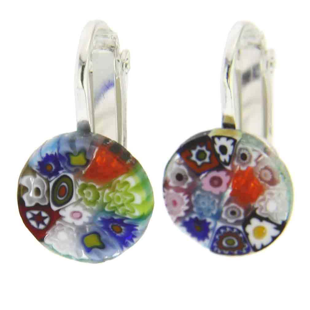 earrings petite mosaic ff butterfly crystal jewelry firefly multi mc color