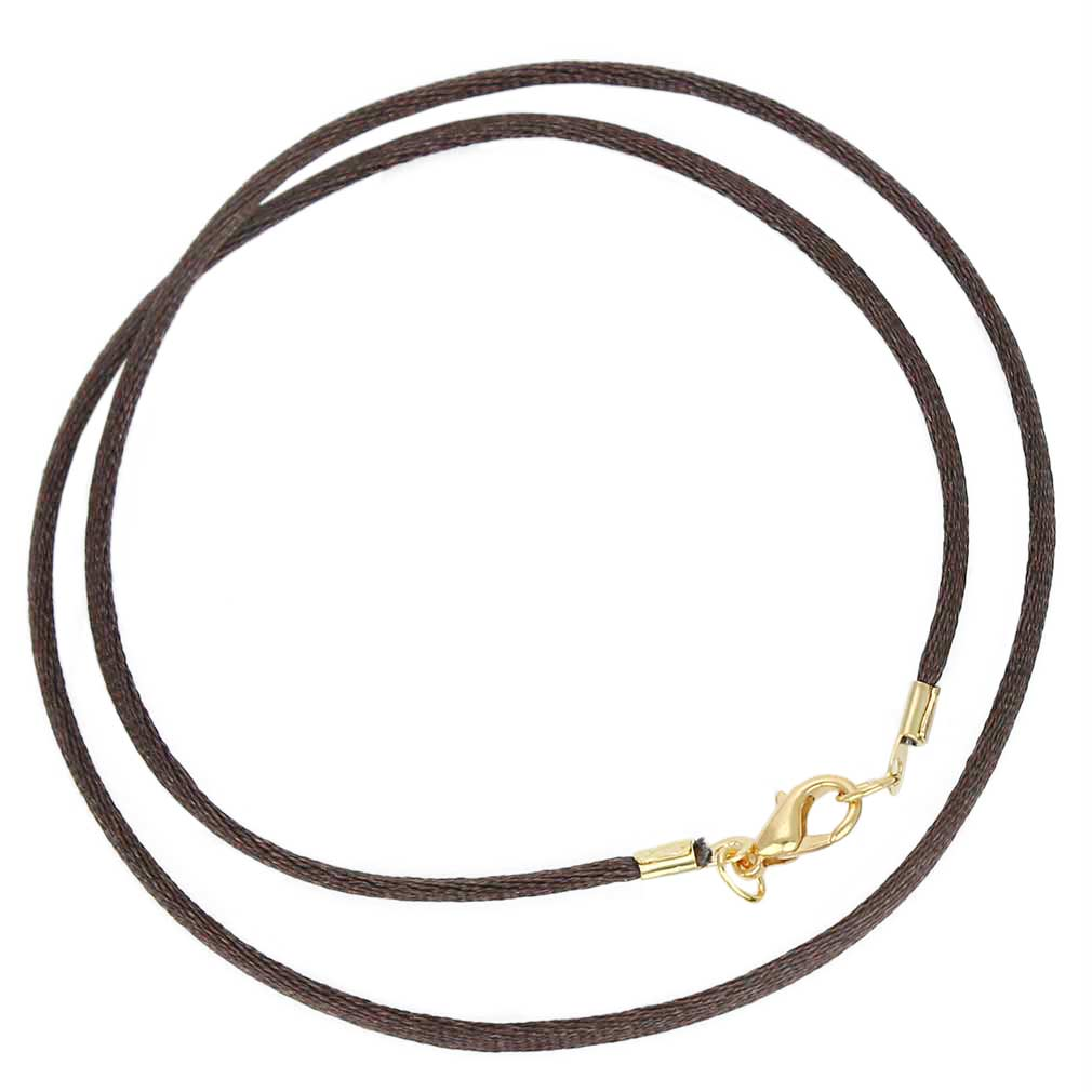 Silk Cord - Chocolate Brown