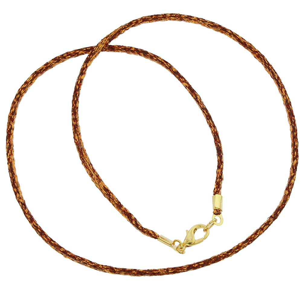 Silk Cord - Sparkling Copper