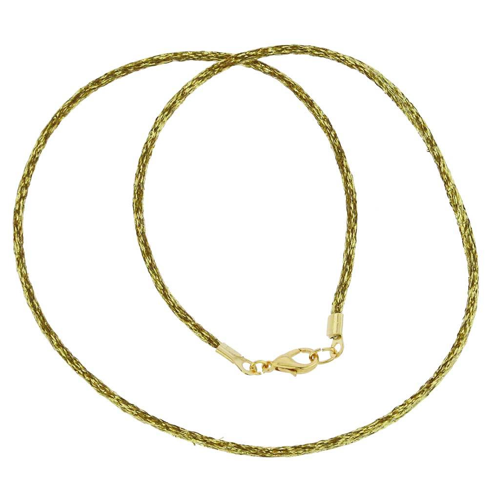 Silk Cord - Sparkling Gold