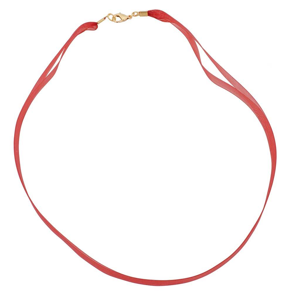 Organza Ribbon - Red