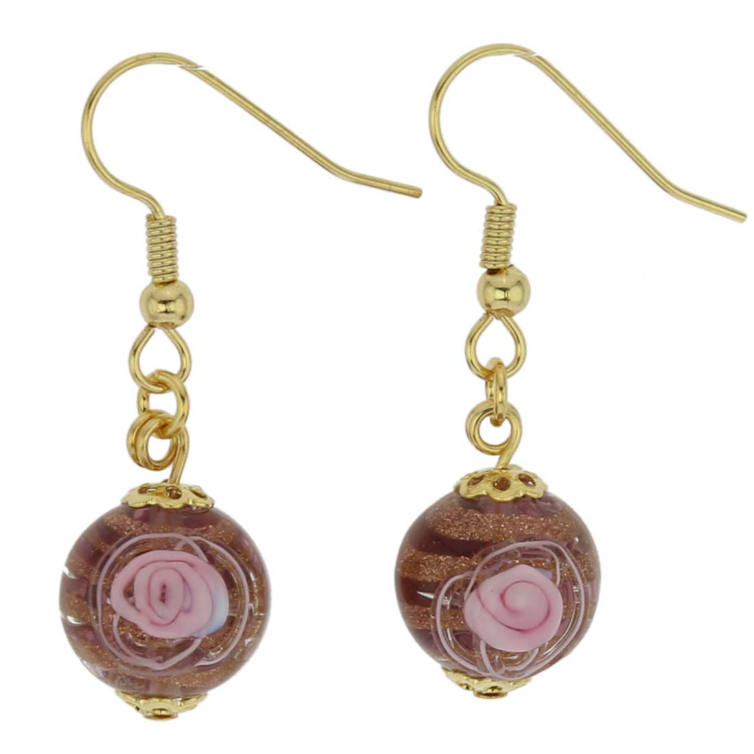 Magnifica Earrings - Cranberry