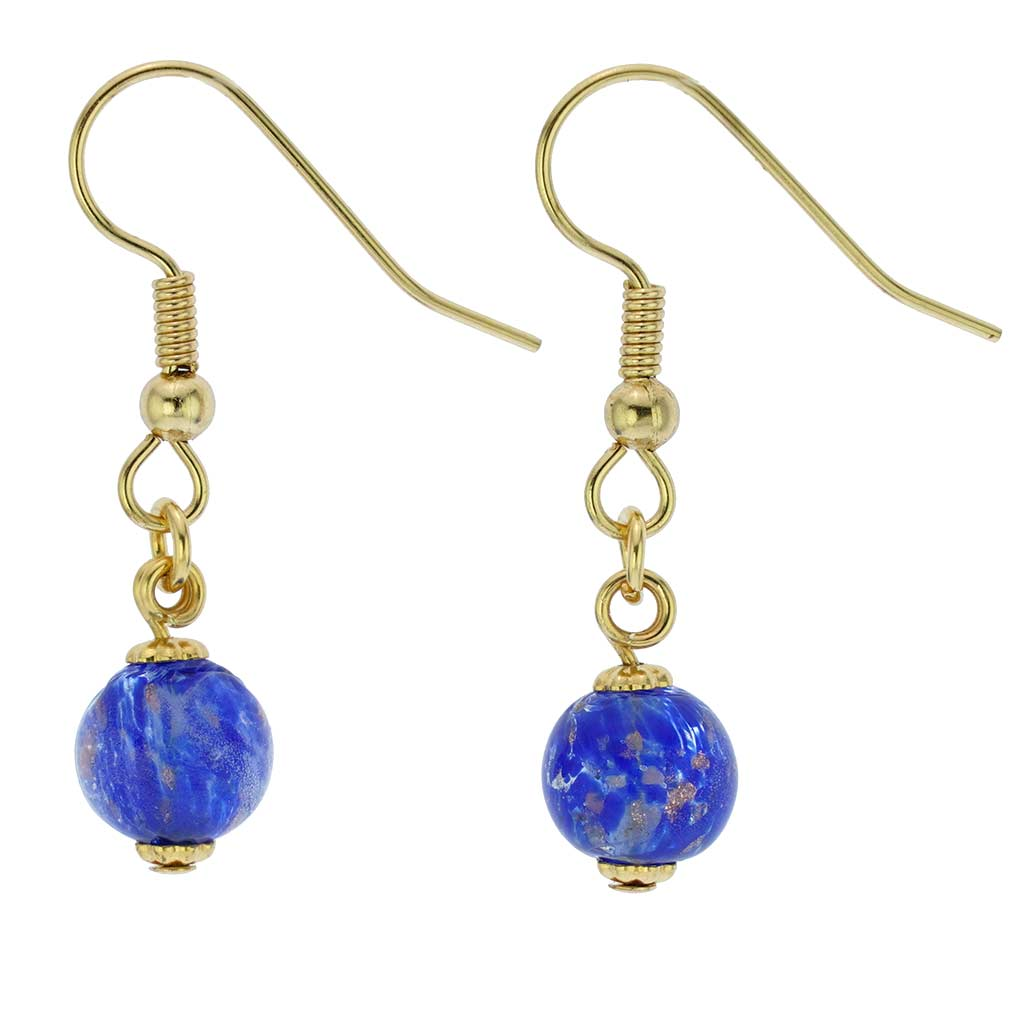 Starlight Balls Earrings - Light Blue