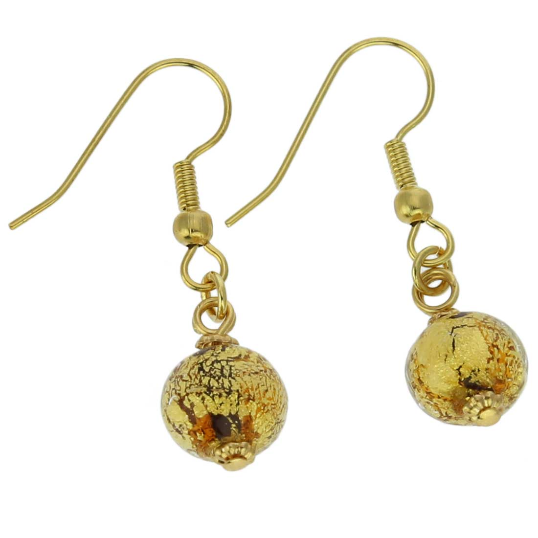 Golden Glow Earrings - Topaz