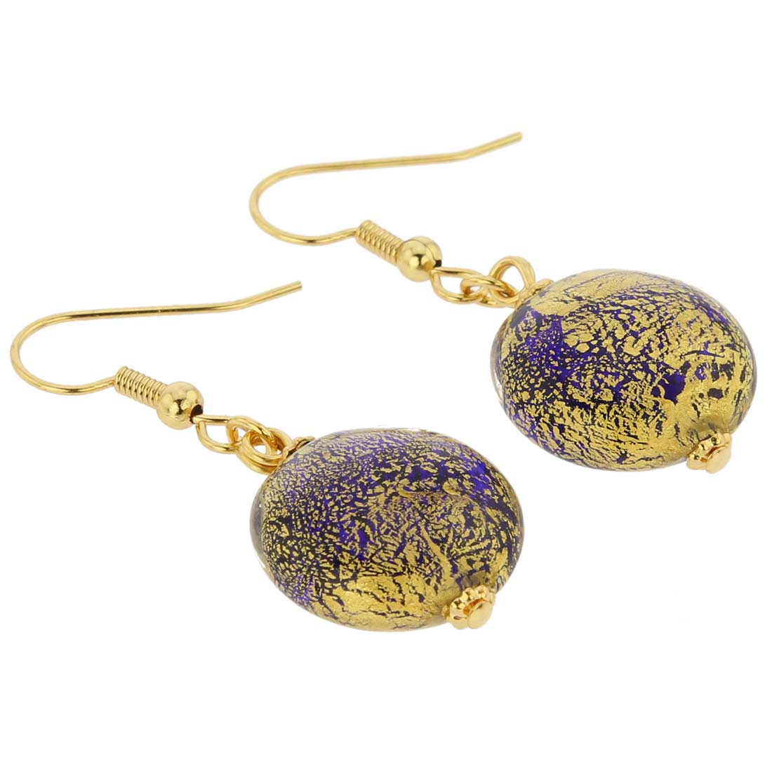 Ca D\'Oro Earrings - Cobalt Blue