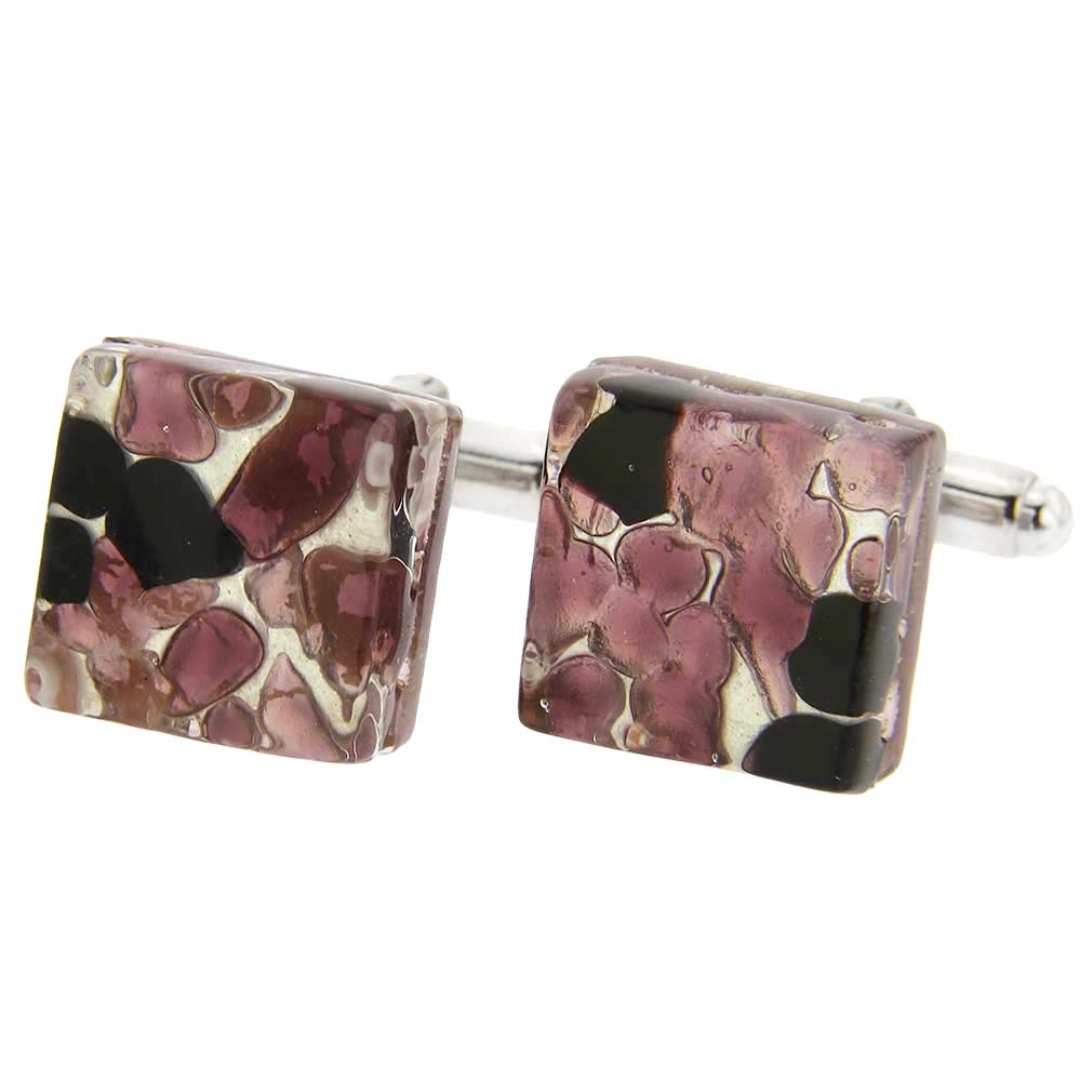 Venetian Classic cufflinks - square #15