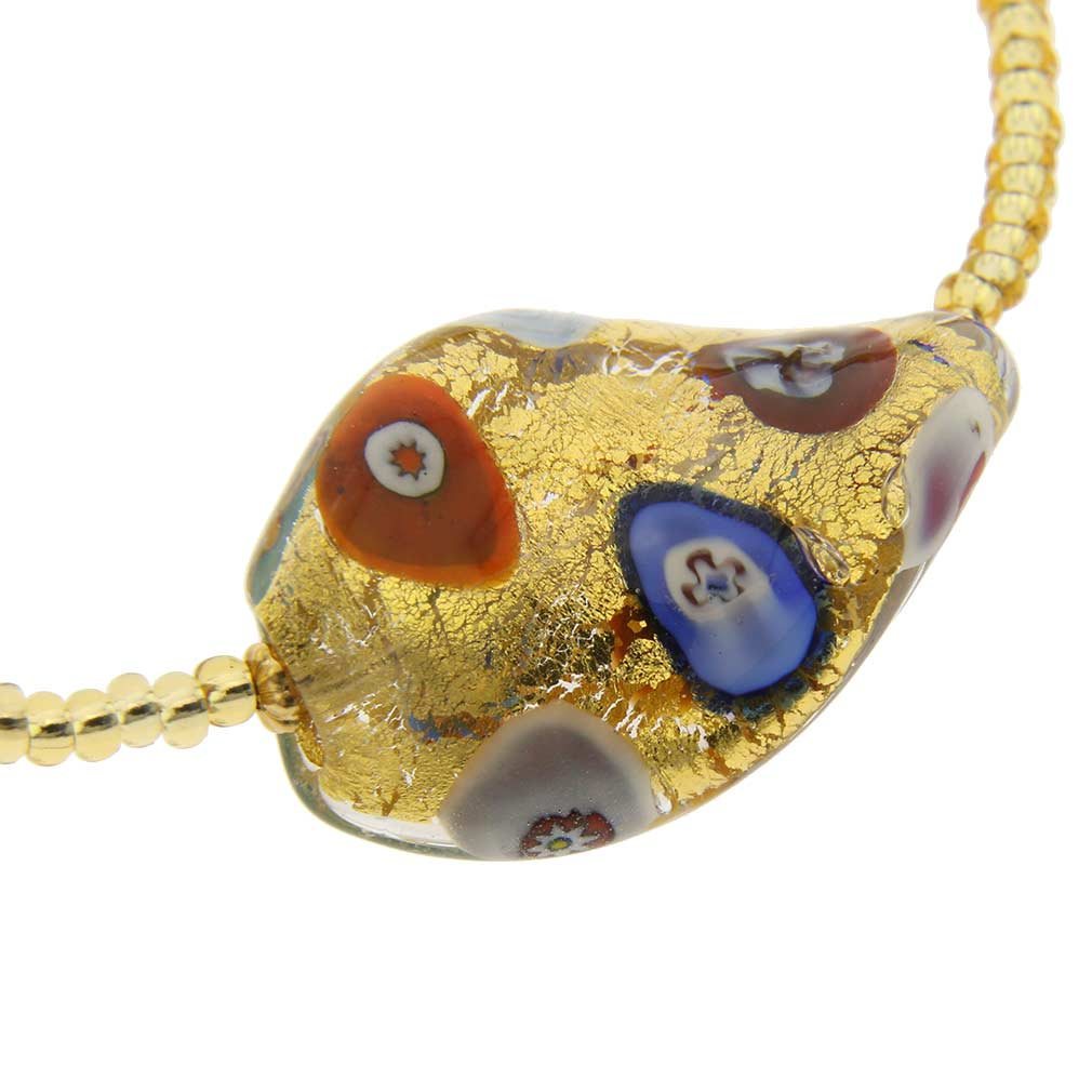 Royal Klimt Spiral Bracelet