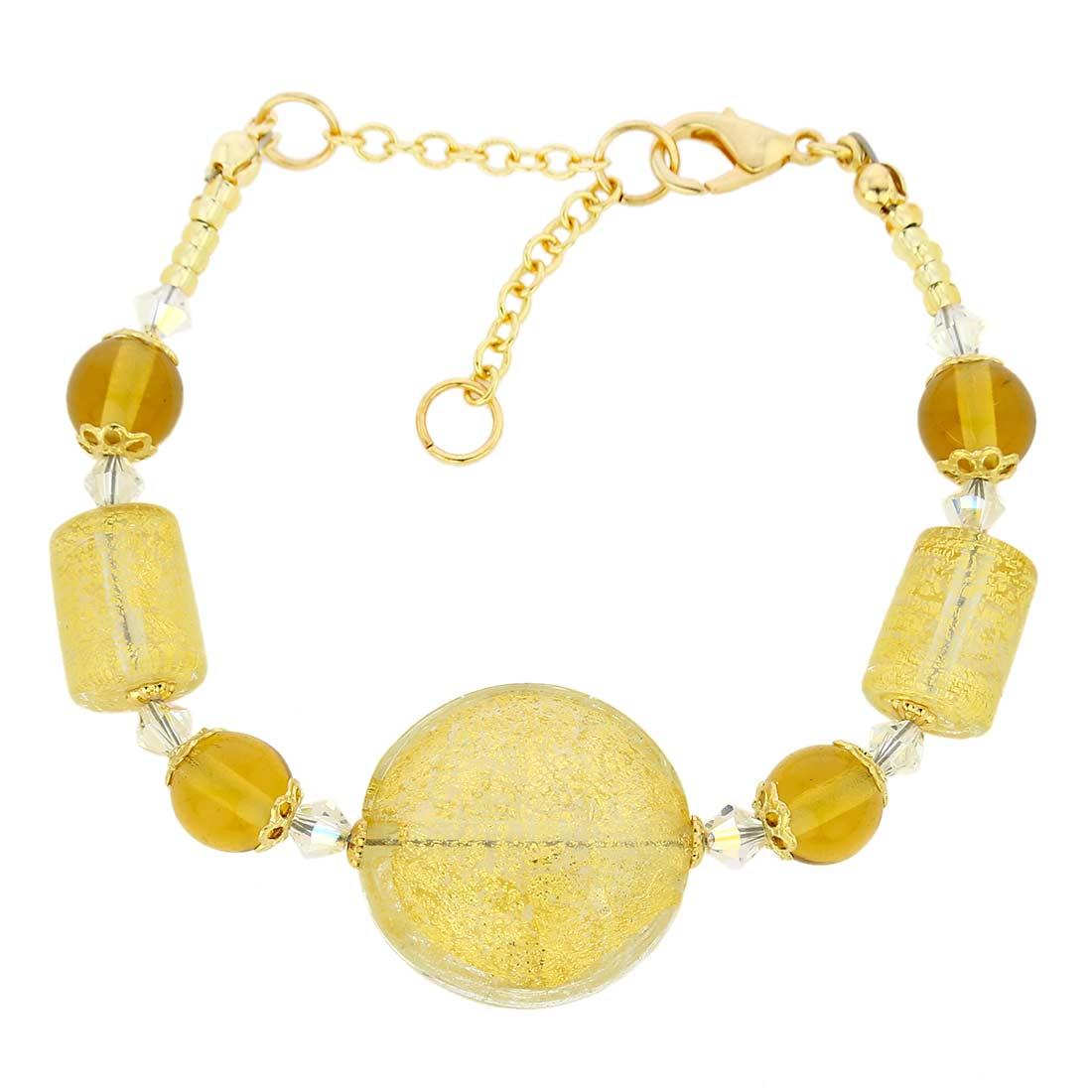 Ca D\'Oro Murano Bracelet - Yellow Gold