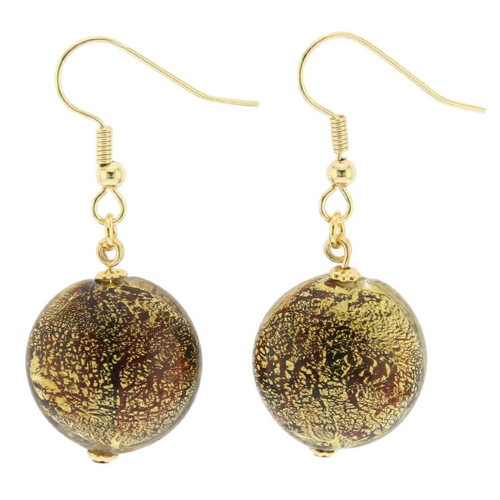 Ca D\'Oro Earrings - Cognac