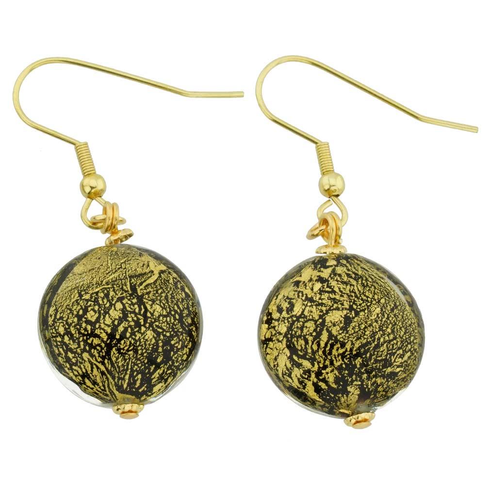 Ca D\'Oro Earrings - Black