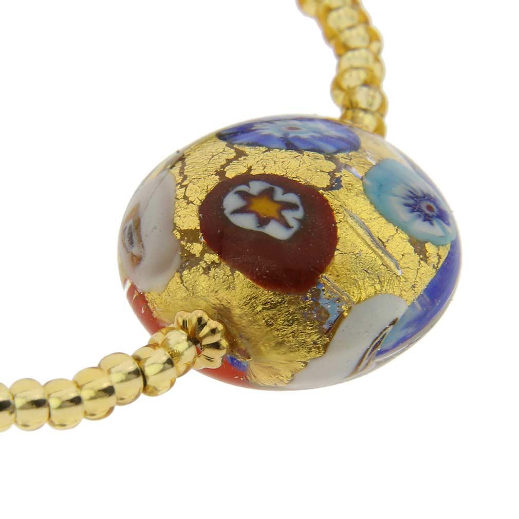 Royal Murano Bracelet - Klimt