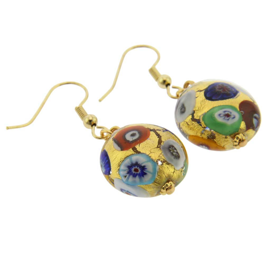 Ca D\'Oro Earrings - Klimt