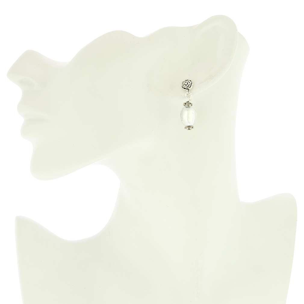 Antico Tesoro Olives Earrings - Silver