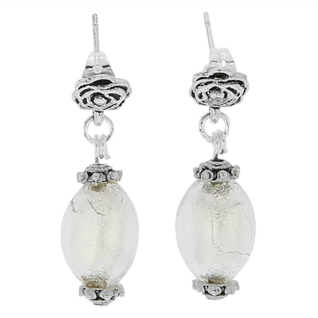 Antico Tesoro Olives Earrings - Silver