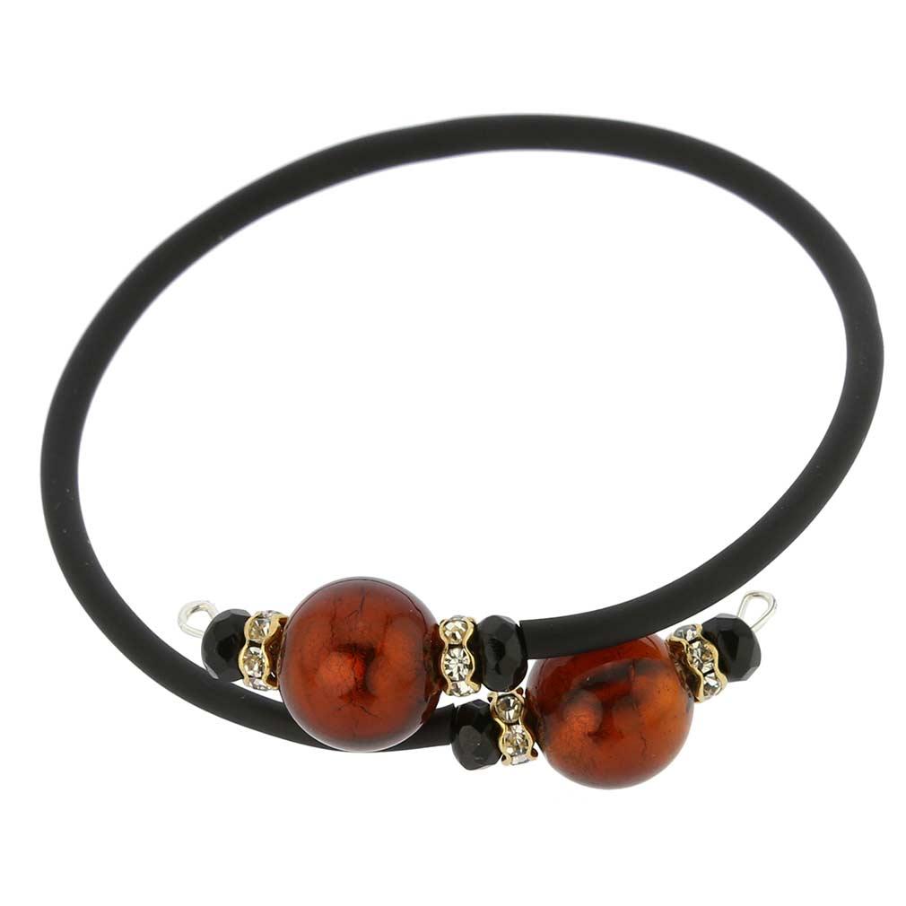 Venetian Glamour Bracelet - Golden Mocha