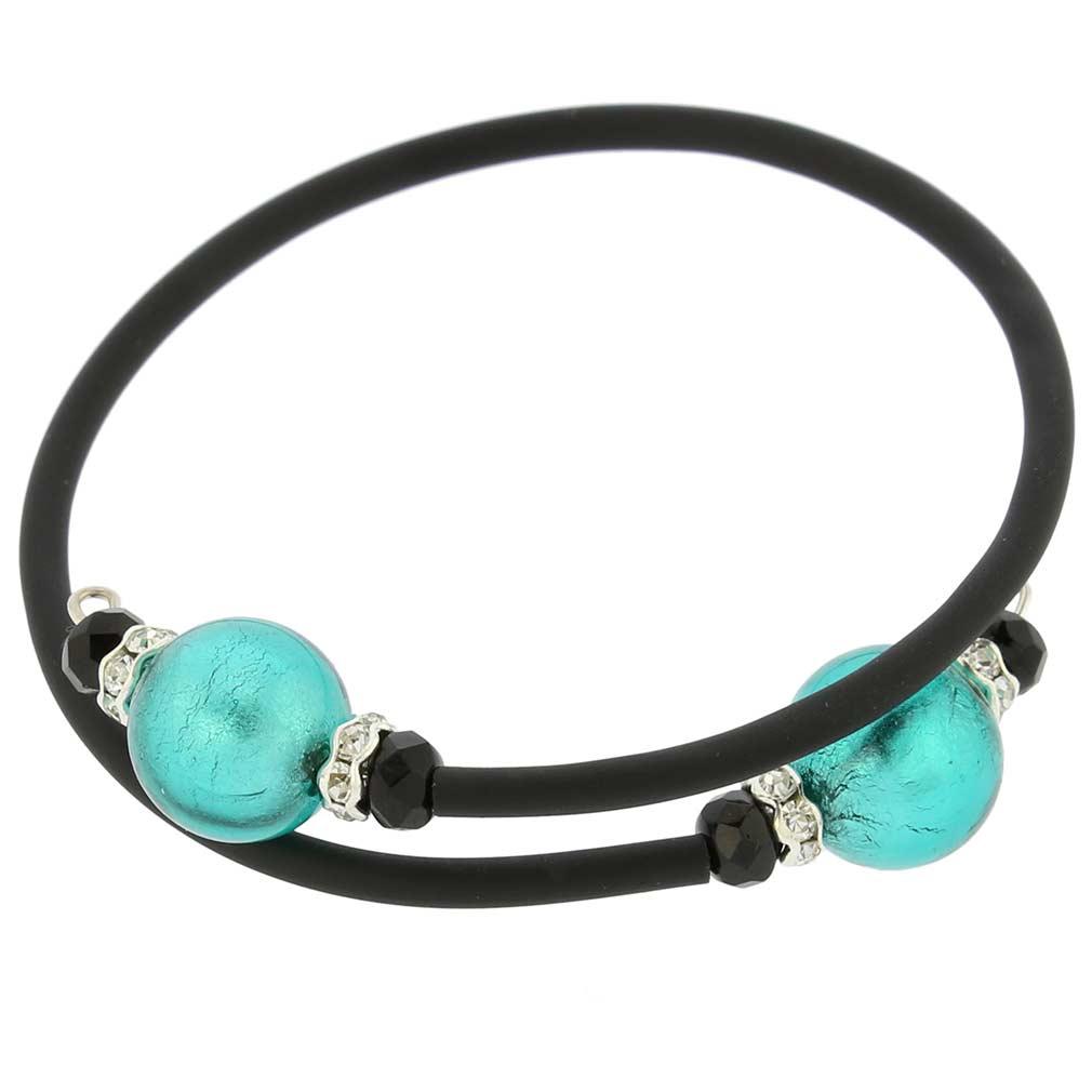 Venetian Glamour Bracelet - Aquamarine