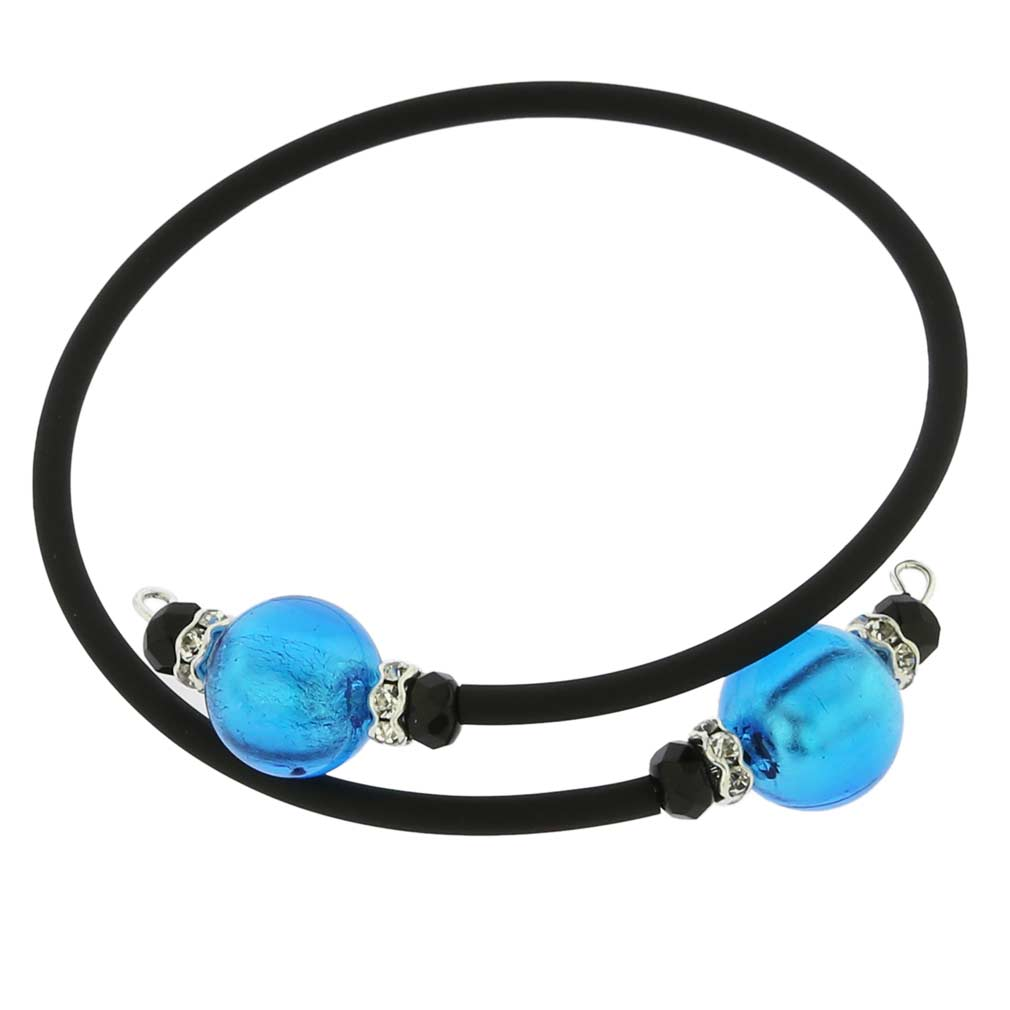 Venetian Glamour Bracelet - Light Blue