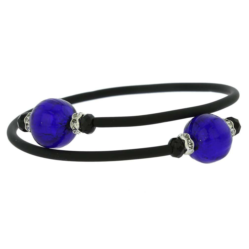 Venetian Glamour Bracelet - Navy Blue