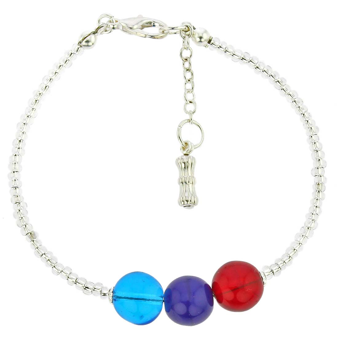 Silver Spring Children\'s Murano Glass Bracelet