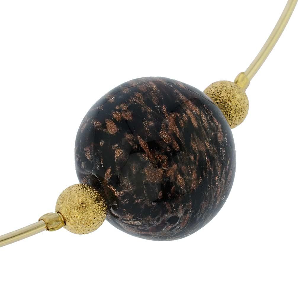 Black Sparkle Choker Necklace