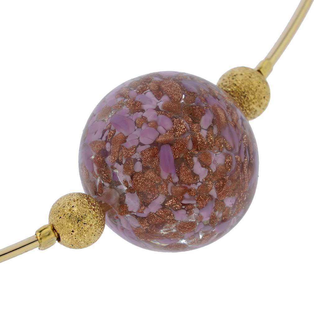 Pink Sparkle Choker Necklace