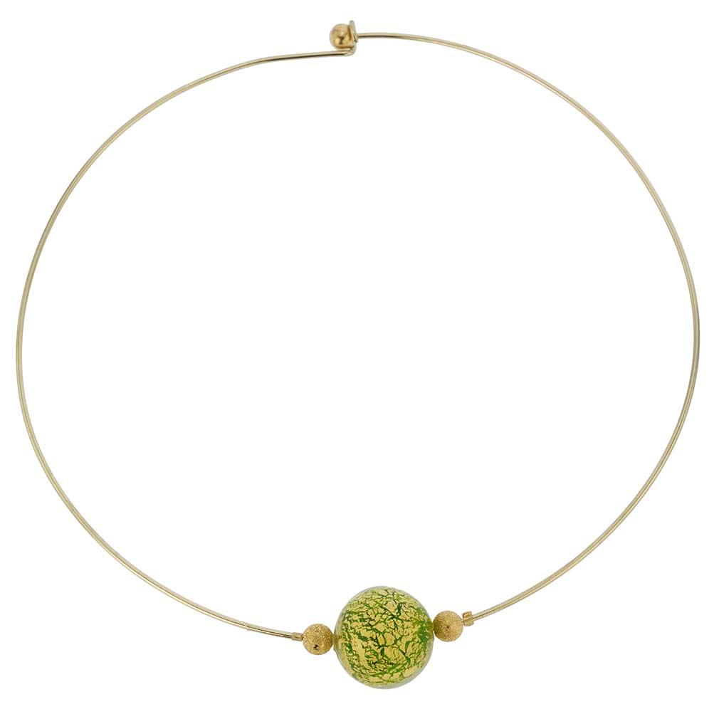 Emerald Green Ca D\'oro Choker Necklace