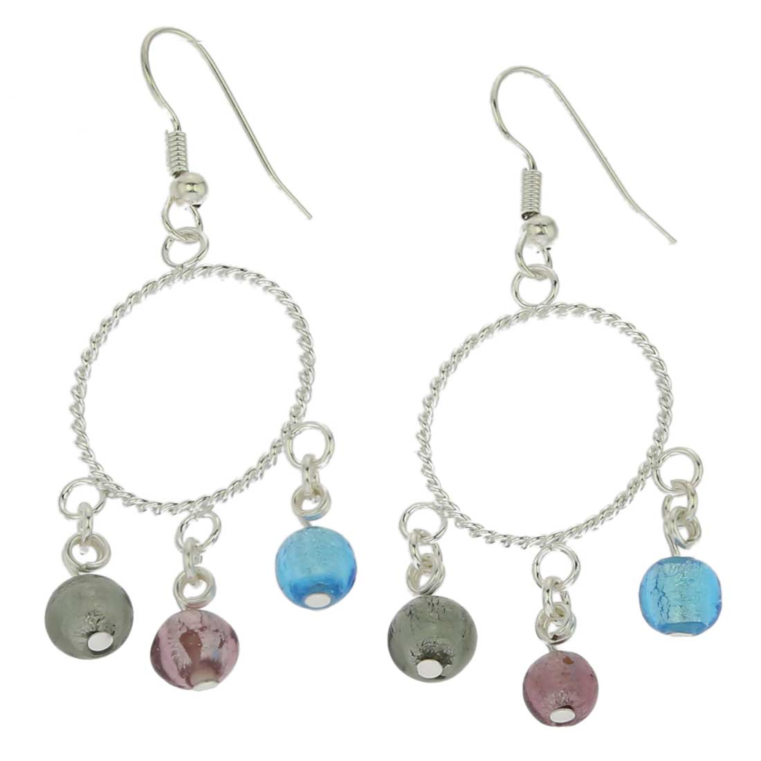 Murano Drops Dangle Earrings