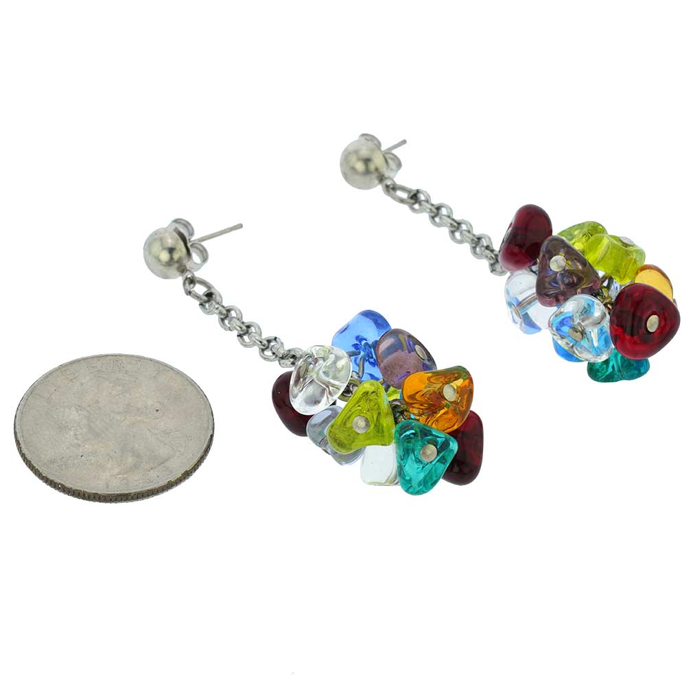 Preziosa Murano Glass Earrings - Multicolor