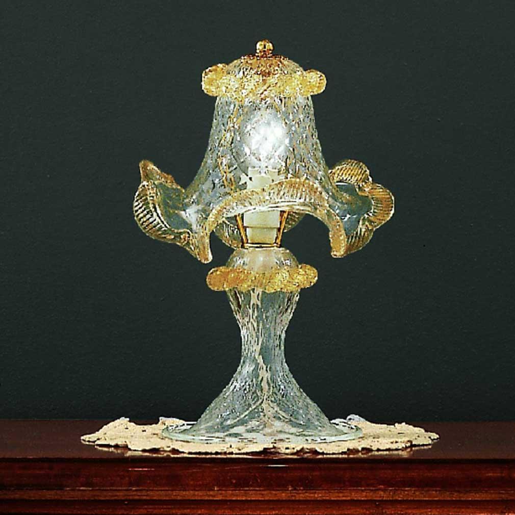 Geppa Murano Glass Table Lamp