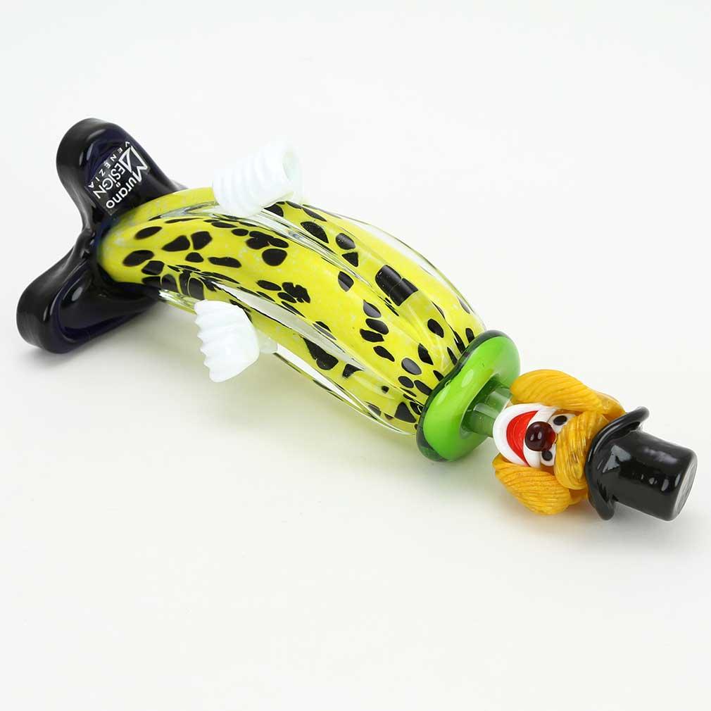 Murano Glass Clown - Banana