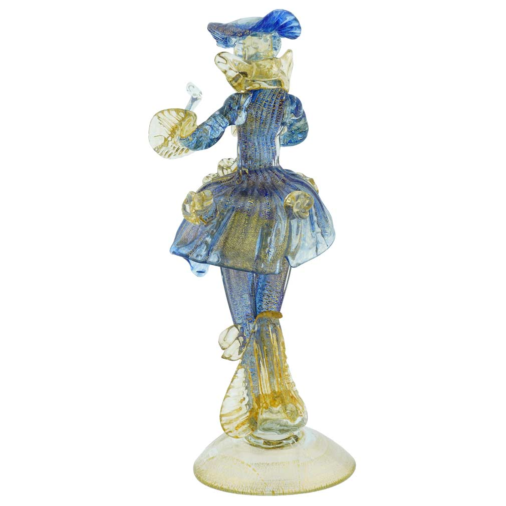 Venetian Goldonian Gentleman - Blue and Gold